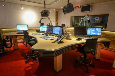 Radio Omroep Friesland ON-AIR consoles